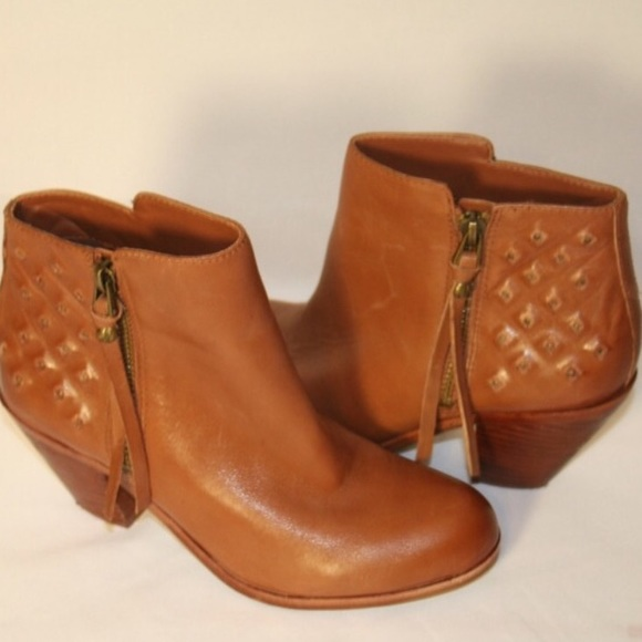 b991e3db9 Sam Edelman Leather Studded Lucille Booties 10. M 5a8cec08d39ca29c0c820304
